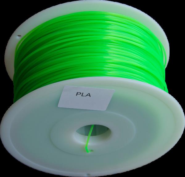 filament pla vert fluo