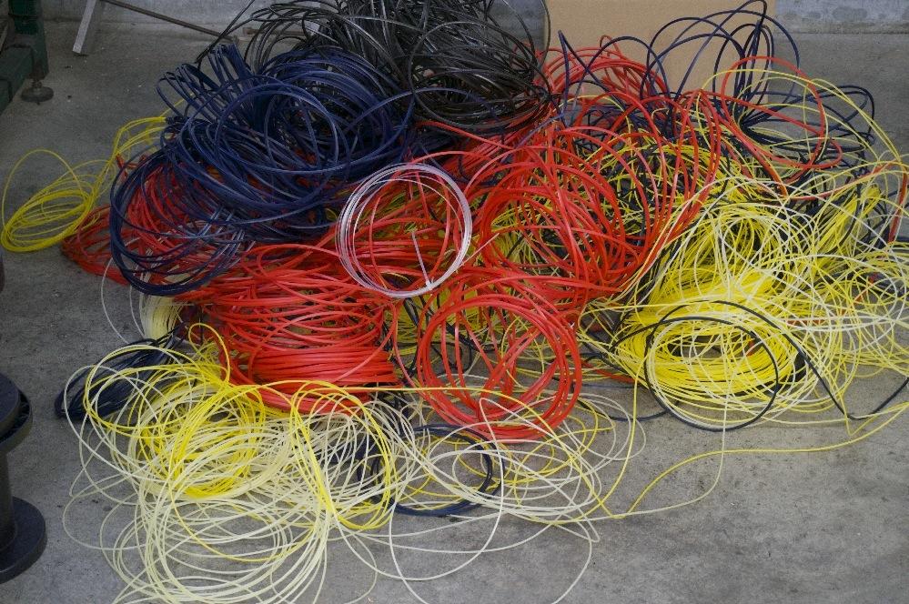 Tout filament ne passant pas le contrôle qualité est recyclé