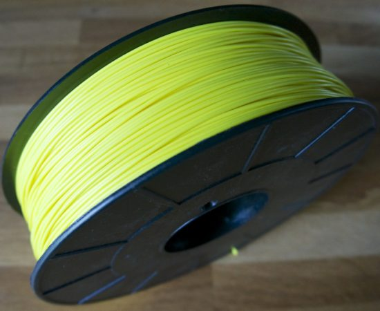 bobine filament abs optimus jaune fluo ral 1026