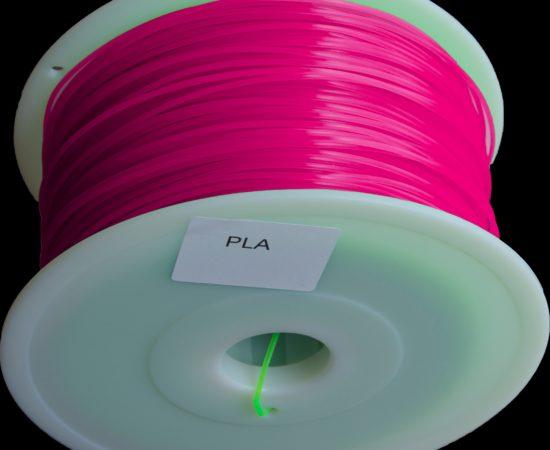 filament pla pourpre transparent