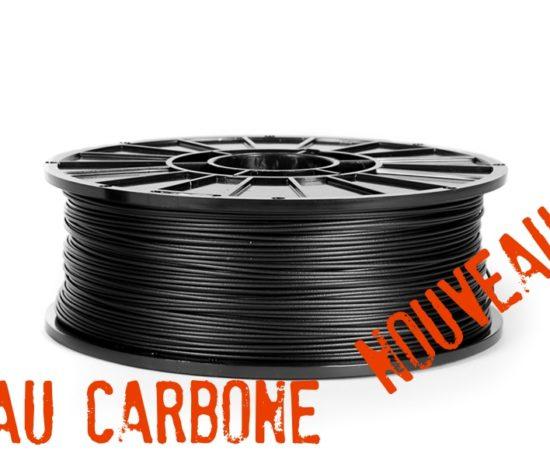 Filament renforcé aux fibres de carbone