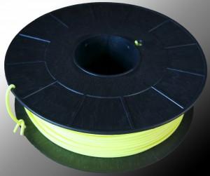 Bobine ABS jaune fluo RAL 1026 3mm - 1000