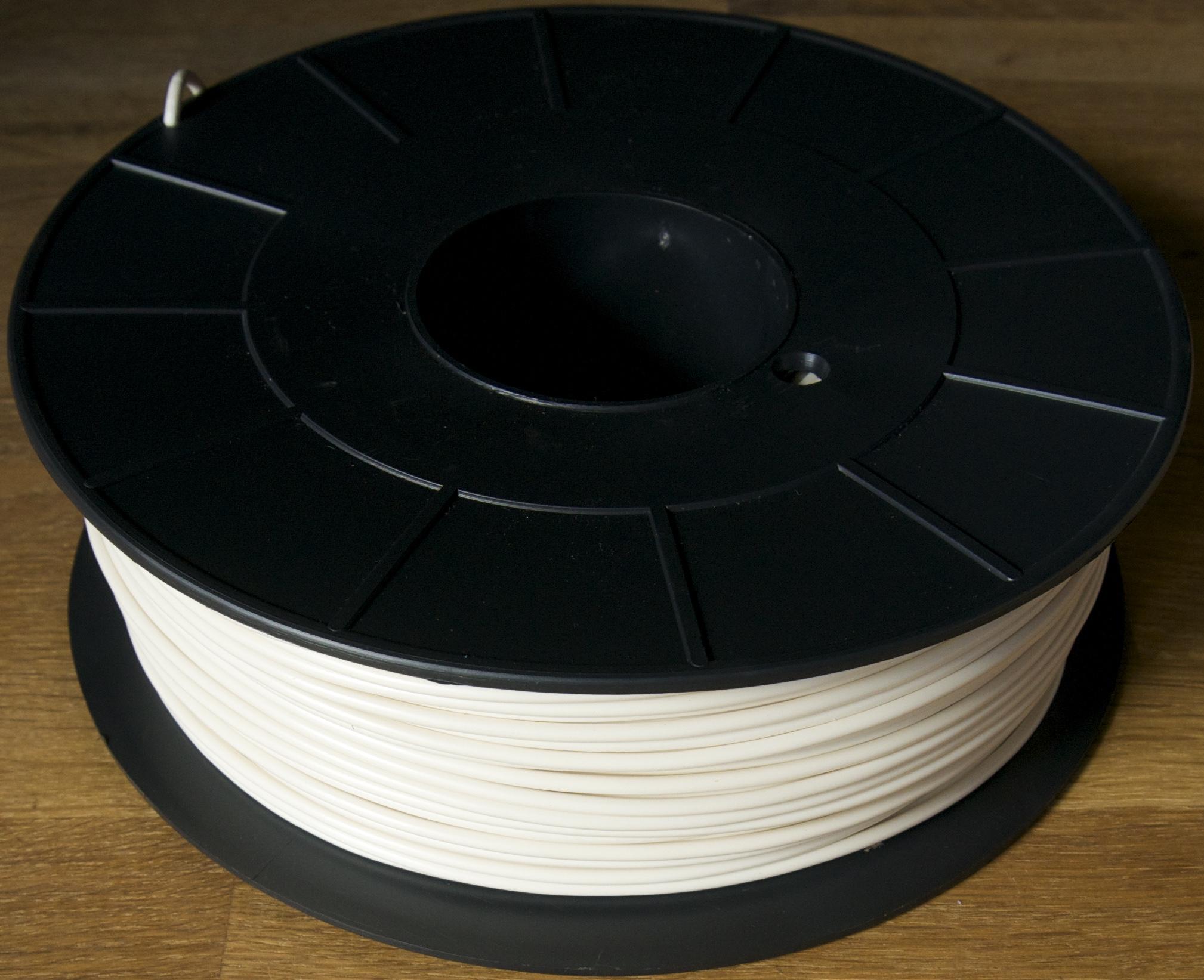 filament abs optimus blanc cr me 3mm. Black Bedroom Furniture Sets. Home Design Ideas