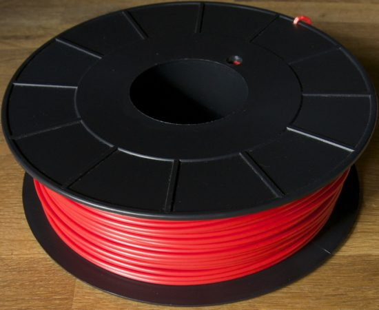 BobineABS rouge 3mm - 1000