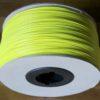 bobine carton abs jaune fluo