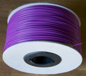 bobine carton abs violet