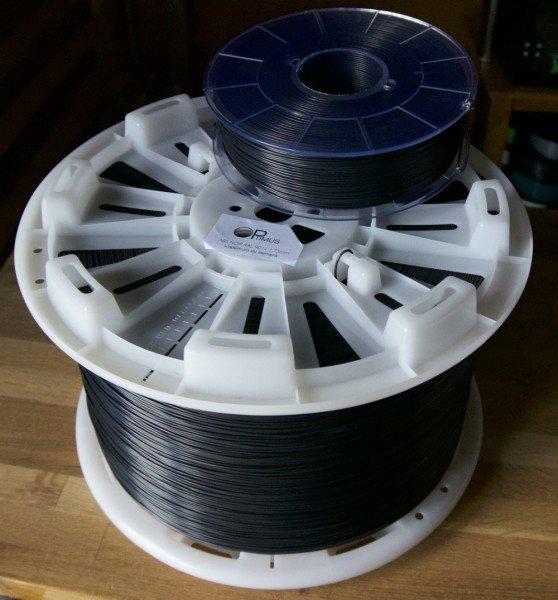 Comparaison bobine de 10kg avec bobine 1kg
