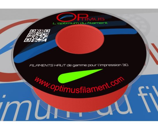 Filament PLA Optimus rouge fluo