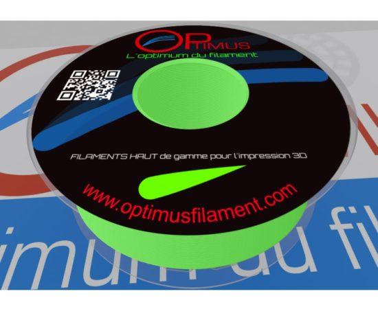 Filament PLA Optimus vert fluo