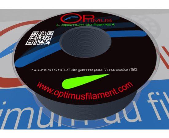 Filament PLA Optimus noir bleuté