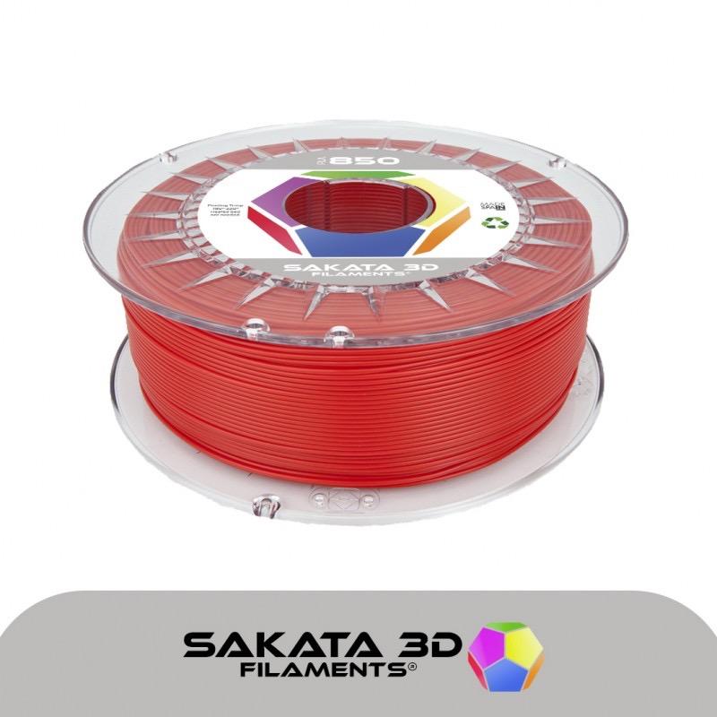 Filament pla 3D850 rouge