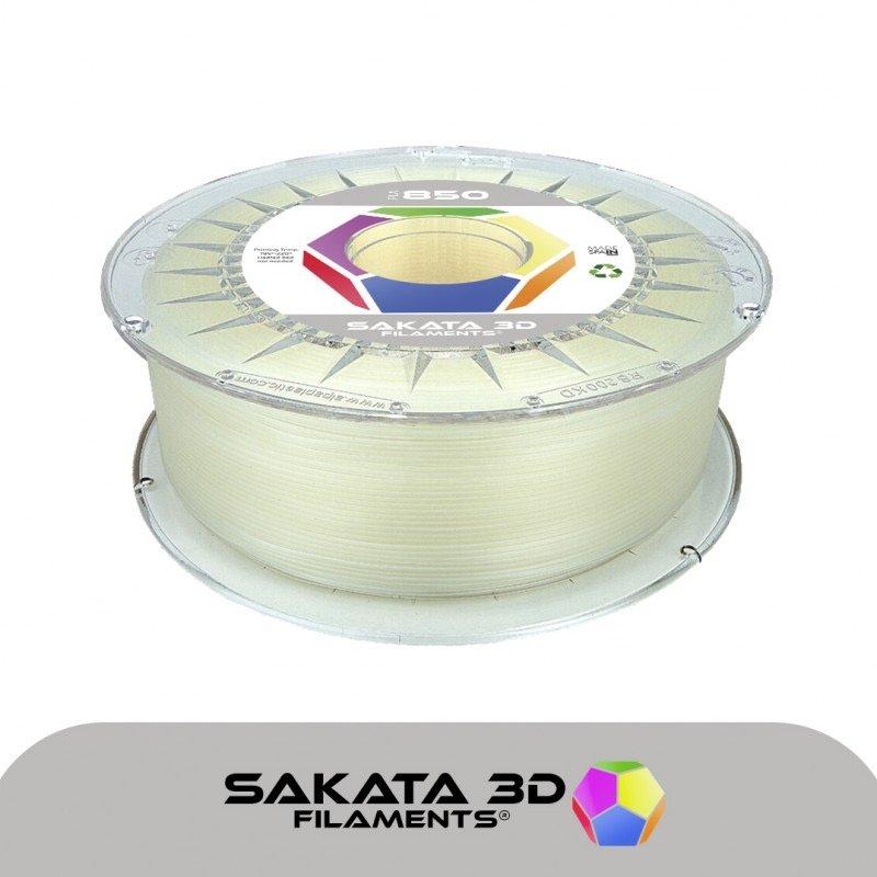 Filament pla 3D850 transparent naturel