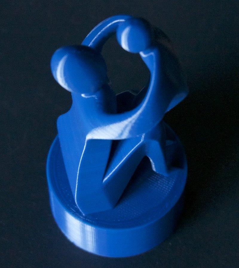Filament PLA bleu cobalt Optimus