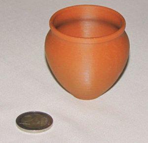 Filament Filament PLA Brun Argile Optimus - Ceramique