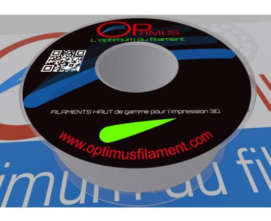 Filament PLA Optimus Aluminium gris