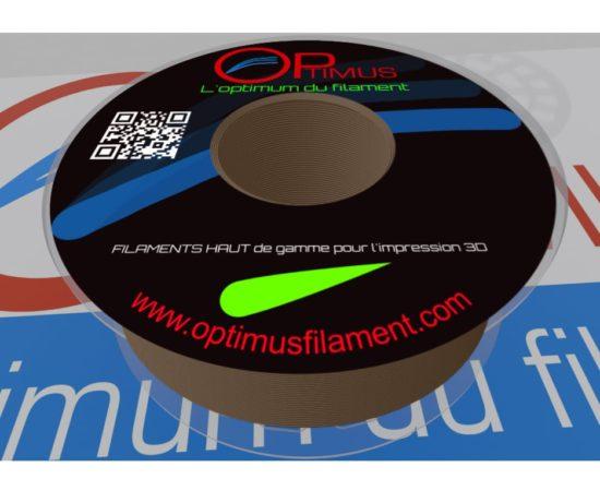 Filament PLA optimus Brun Argile