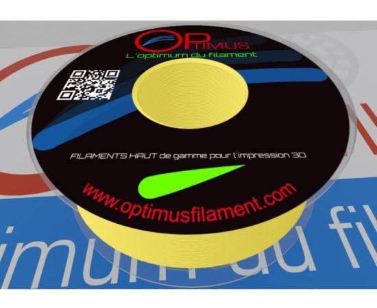 Filament PLA Optimus Jaune