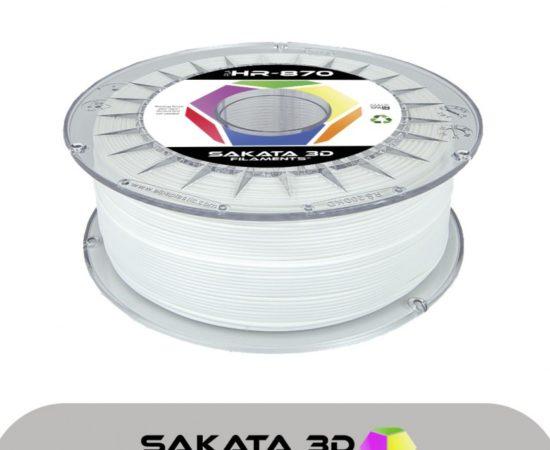 Filament pla ingeo 3d870 blanc haute resistance