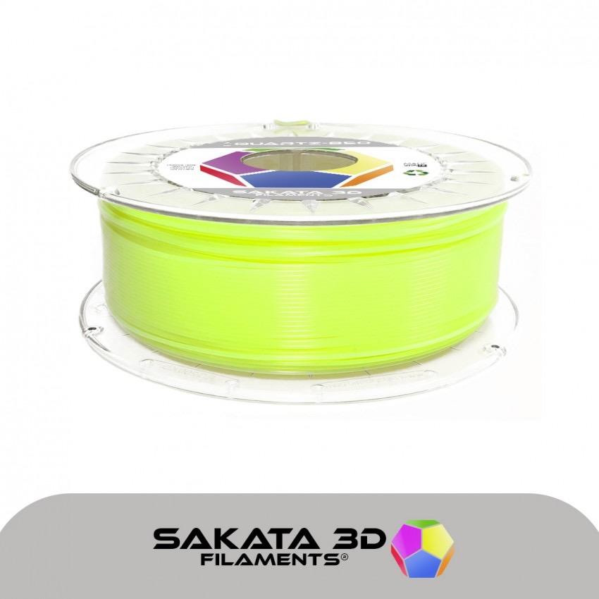 Filament pla 3D850 Jaune Flamboyant