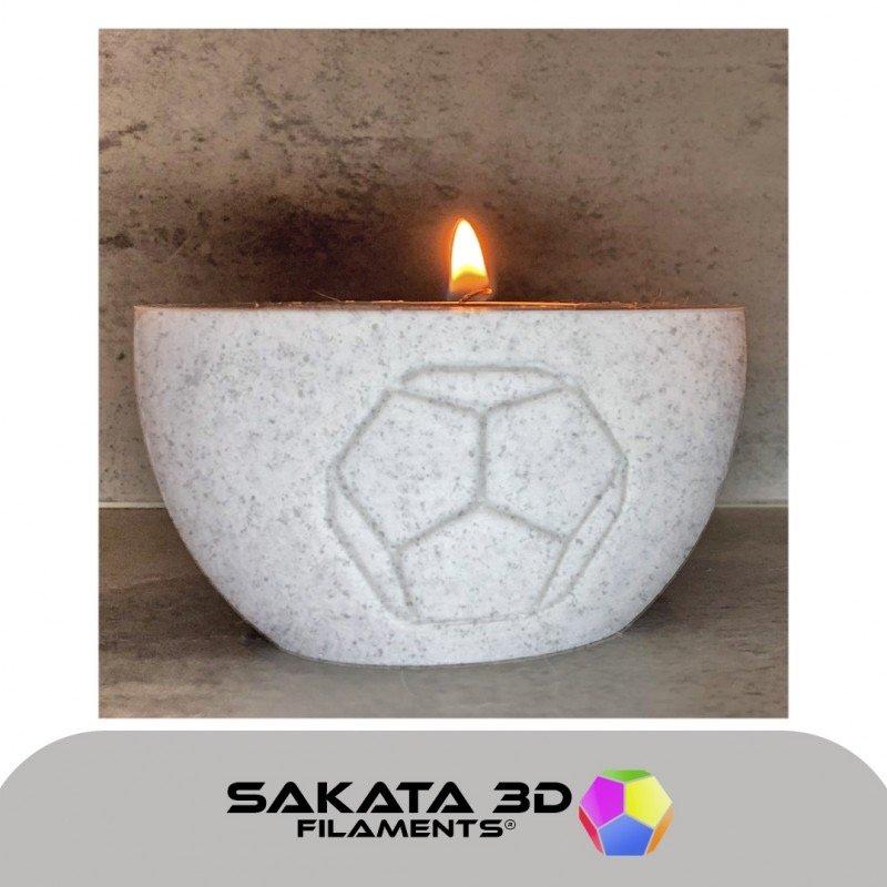 PLA 3D850 texture granite exemple