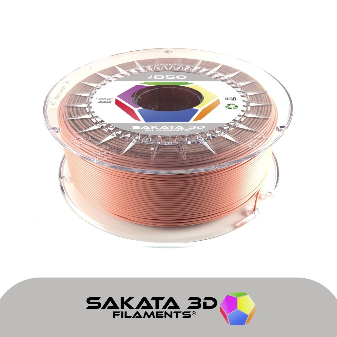PLA 3D850 Terre Cuite