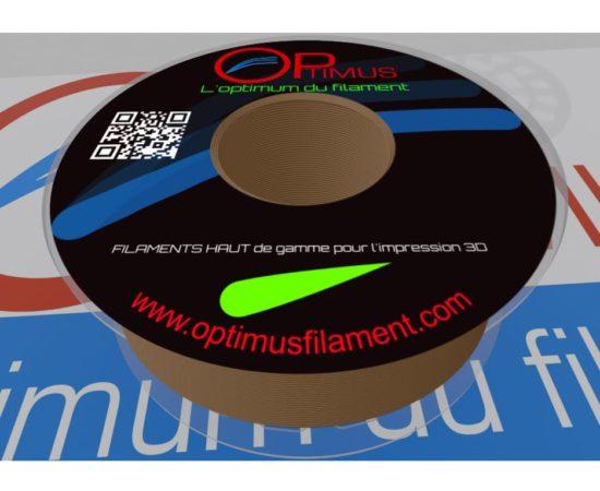 Filament PLA optimus Brun Terre de Sienne