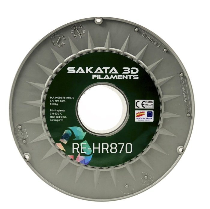 Filament pla 3D870 recycle