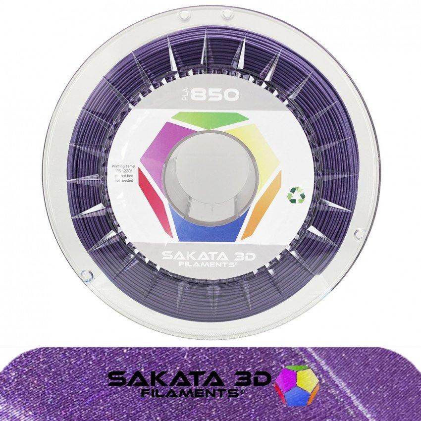 Filament PLA 3D850 violet pailleté