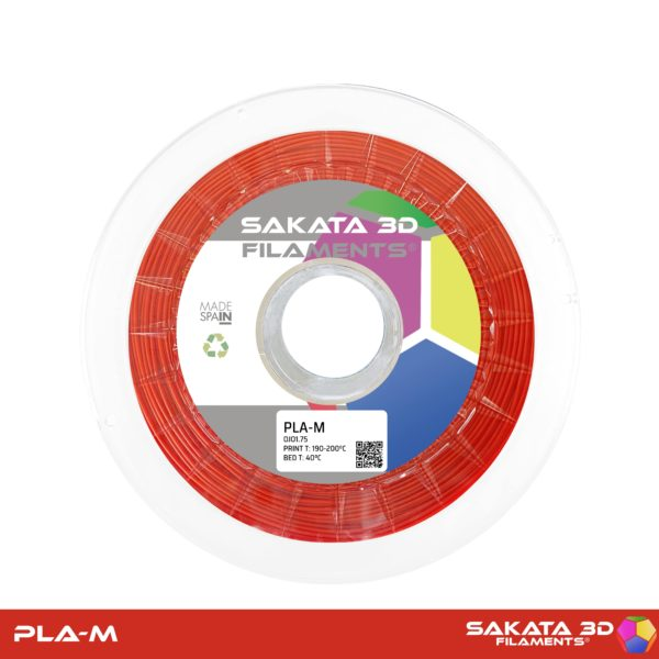 Filament PLA-M Red - Rouge