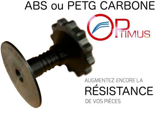 Banniere ABS PETG carbone
